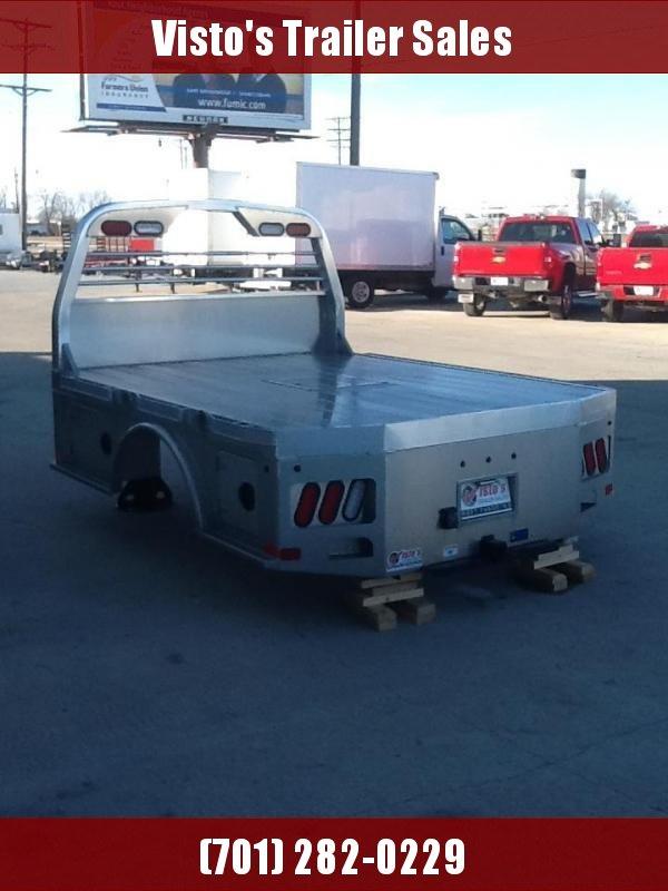 "CM ALSK 8'6""X84"" CTA 56""/38"" Aluminum Truck Bed Skirted 2 Boxes Per SIde"