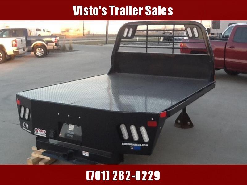 "CM RD2 8'6""x84"" CTA 56/42"" Steel Truck Bed"