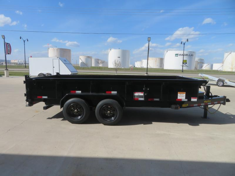 2021 Big Tex 83''X16' Dump Trailer 16LP-16