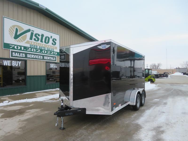 2021 MTI 7'X14' Enclosed Trailer MDLX7147K