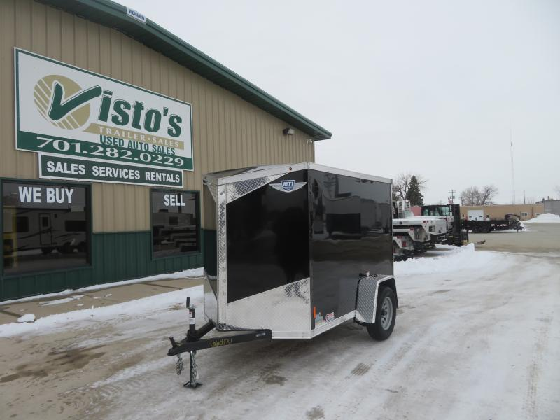 2021 MTI 5'X8' Enclosed Trailer MDLX58