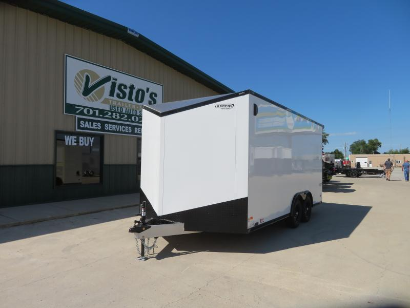 2021 Bravo 8.5'X16' Enclosed Trailer SSAC85167K