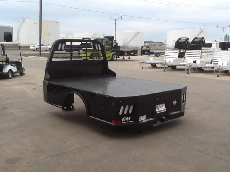"""2021 CM SK 8'6"""" x 97"""" CTA 58/42"""" Steel Truck Bed Skirted 2 Boxes per Side"""