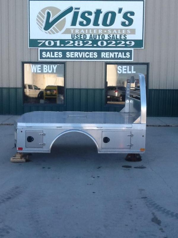 "CM ALSK 84""X84"" CTA 42""/42"" Aluminum Truck Bed Skirted 2 Boxes Per SIde"