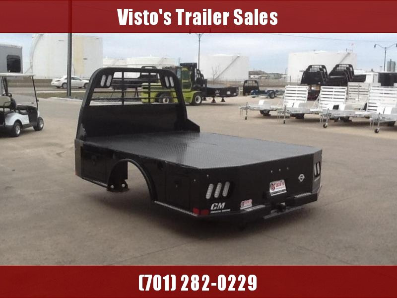 """CM SK 8'6""""x84"""" CTA 58/ 42"""" Steel Truck Bed Skirted 2 Boxes Per Side"""