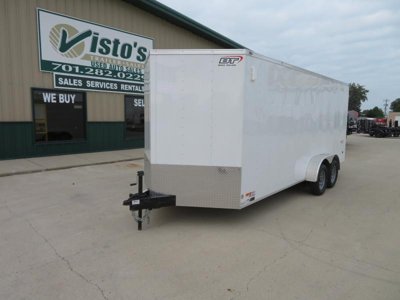 2020 Bravo 7'X18' Enclosed Trailer SC7187K