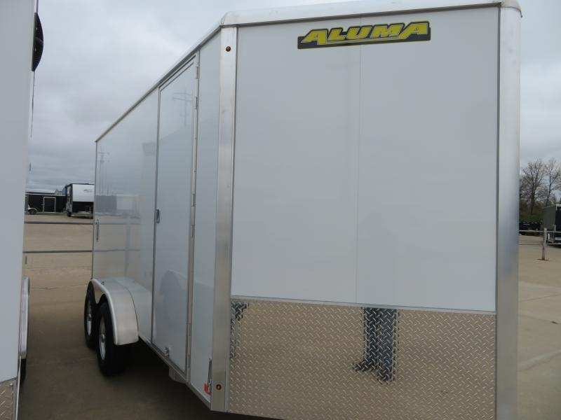 2020 Aluma 7'X14' Enclosed Trailer AE7147K