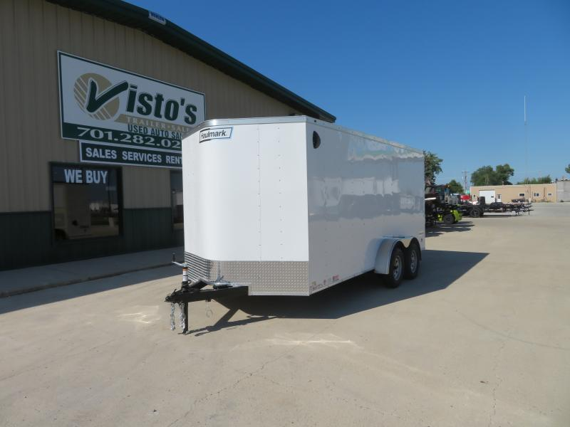 2021 Haulmark 7'X16' Enclosed Trailer PP7167K