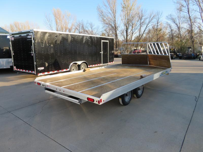 "2019 Aluma 8'6""X16' Snowmobile Trailer 8616D"