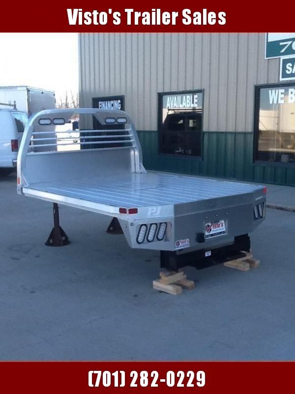 """PJ ALGB 8'6""""x84"""""""" CTA 56 or 58/42 Aluminum Truck Bed"""