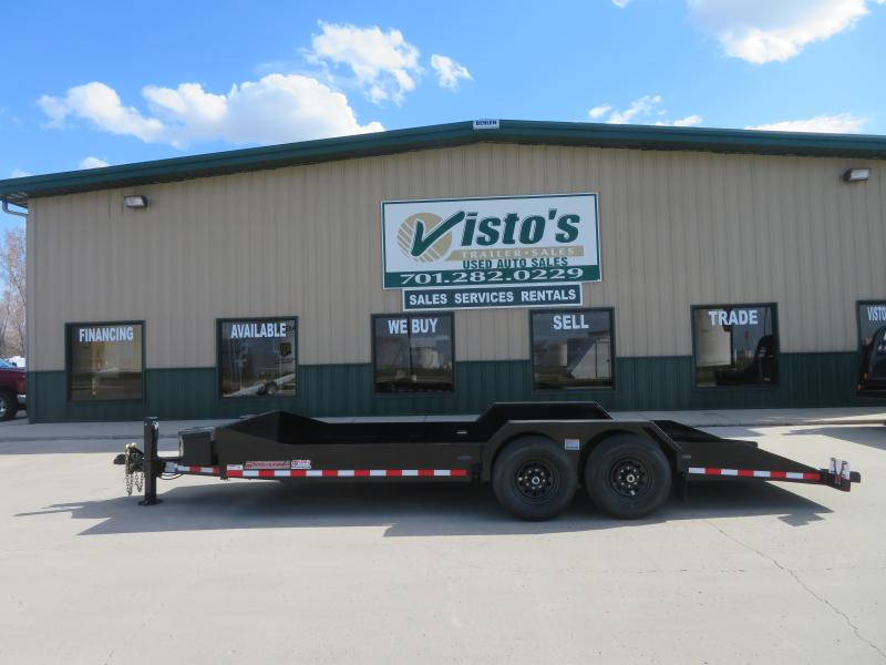 "2021 Midsota 79.5"" X 20' Equipment Trailer SL79.52014K"