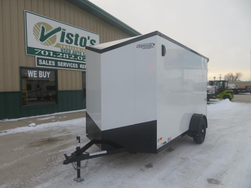 2021 Bravo 6'X12' Enclosed Trailer SC612