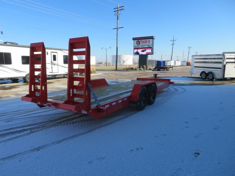 2021 Midsota 82''X22' Equipment Trailer ST822214K