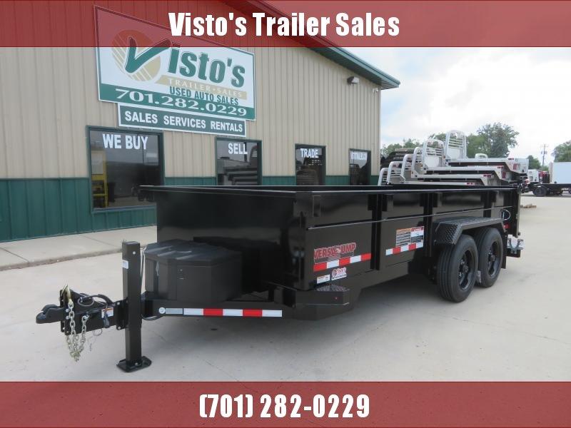 2020 Midsota 82''X16' Dump Trailer HV821616K