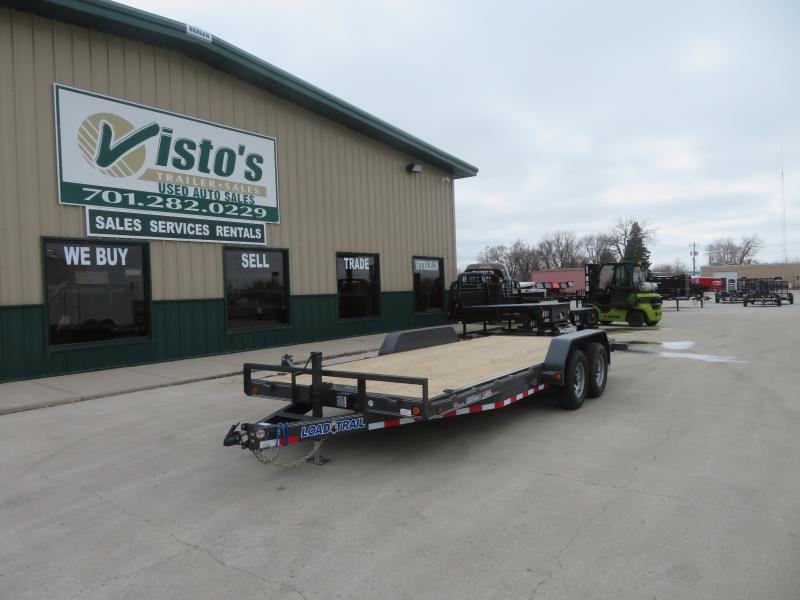 2021 Load Trail 83''X18' Equipment Trailer CH831810K