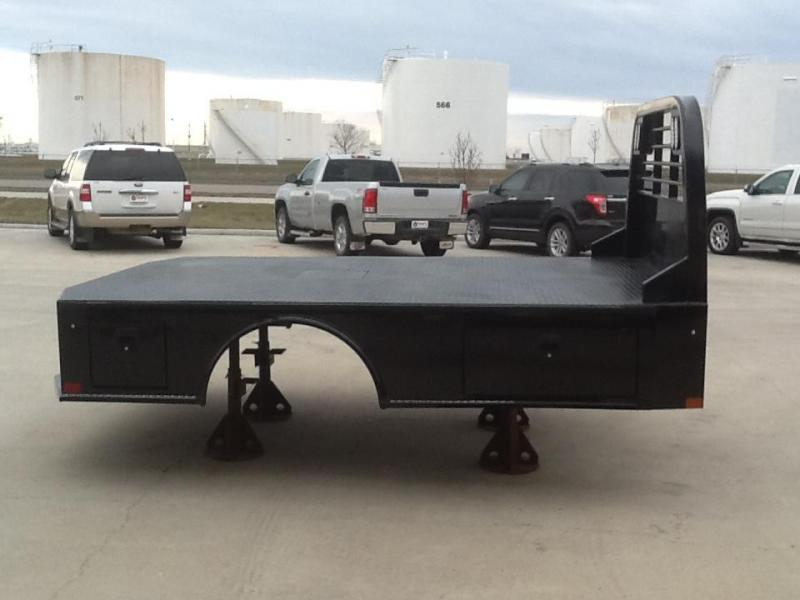 """CM SK 11'4""""x94"""" CTA 84""""/ 34"""" Steel Truck Bed Skirted 2 Boxes Per Side"""