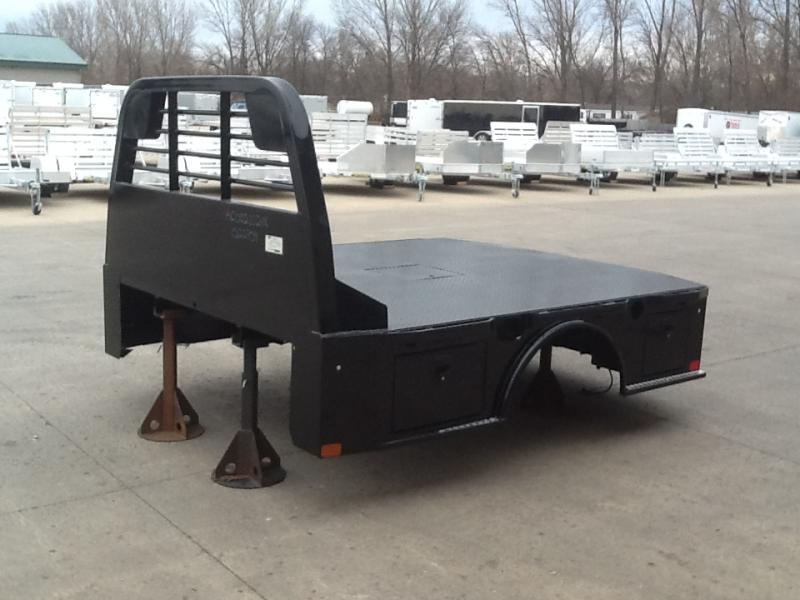 """2021 CM Truck Beds SK 9'4""""x94"""" CTA 60/34"""" Steel Skirted 2 Boxes/Side Truck Bed"""