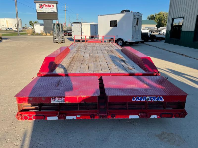 "2016 Load Trail 102""x24' Equipment Trailer CH022421K"