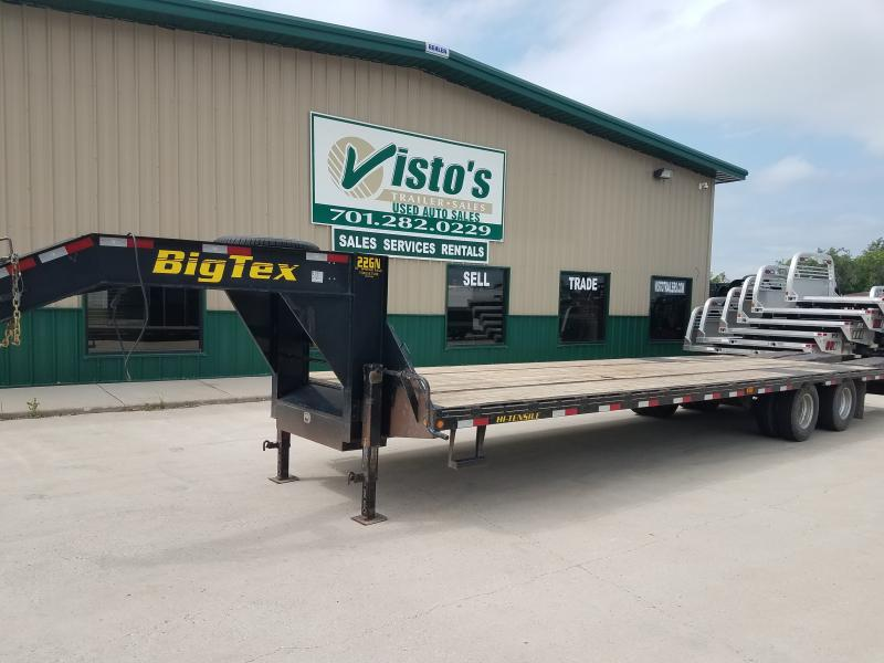 "2013 Big Tex 102""X28' Gooseneck Trailer 102""X28'"