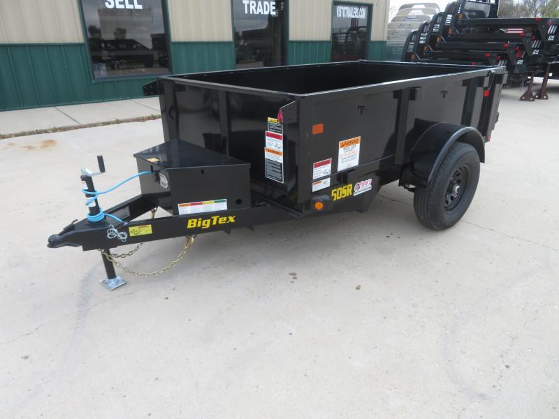 2022 Big Tex 60''X8' Dump Trailer SR6008