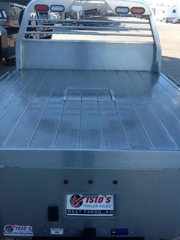 "CM ALSK 8'6""X84"" CTA 56""/42"" Aluminum Truck Bed Skirted 2 Boxes Per SIde"