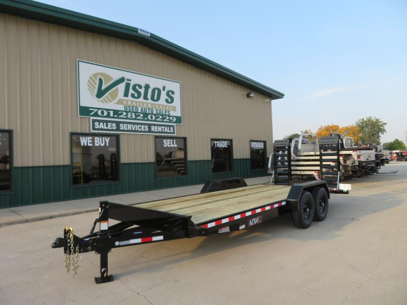 2021 Midsota 82''X20' Equipment Trailer ET822014K