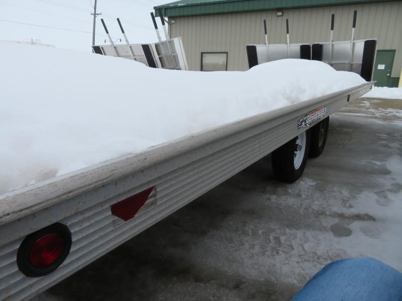 2004 Bear Track 8.5'X20' Snowmobile Trailer 8620