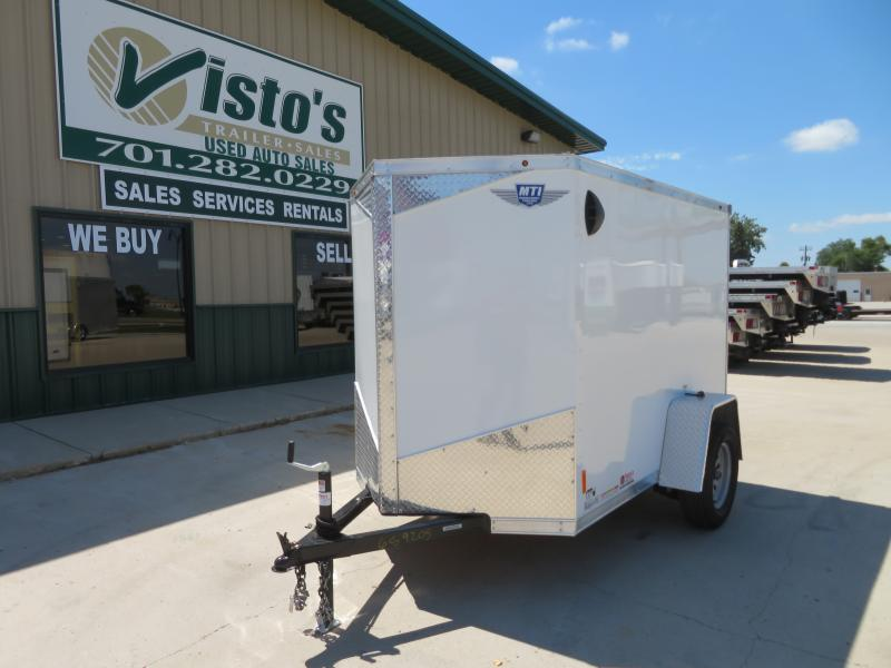 2020 MTI 5'X8' Enclosed Trailer MDLX58