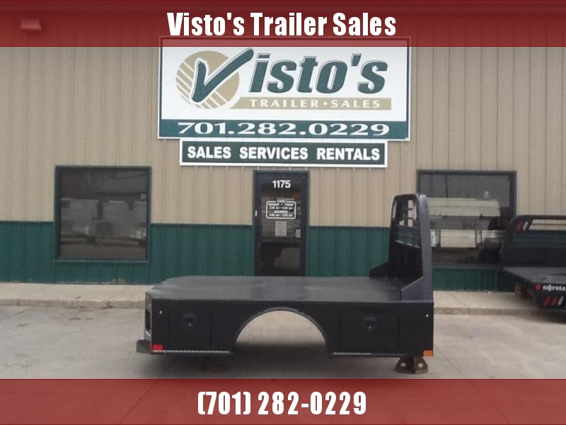 """2021 CM SK 8'6"""" x 84"""" CTA 58/42"""" Steel Skirted Truck Bed 2 Boxes per Side"""