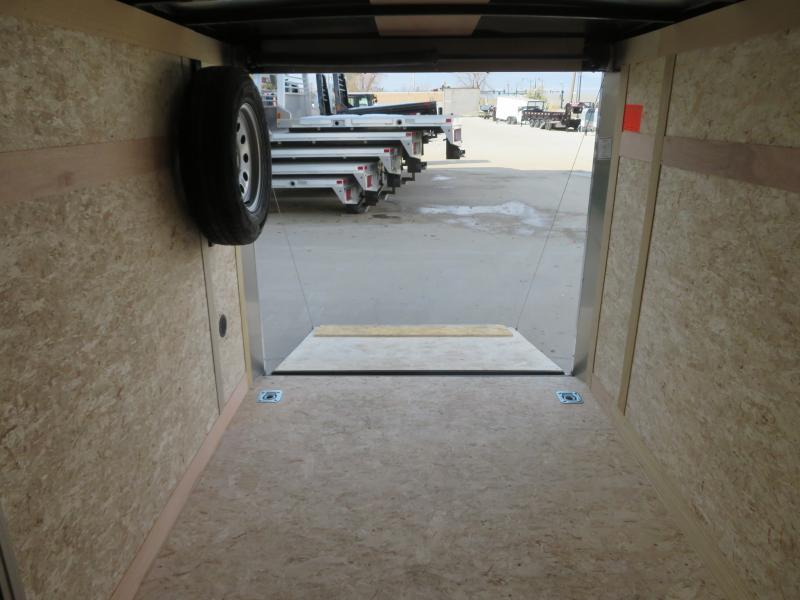 2021 Haulmark 6'X10' Enclosed Trailer TSV610