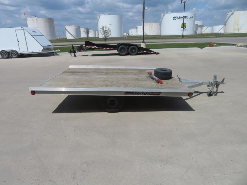 1998 Triton 10ft Tilt Sled Trailer 10ft Tilt Sled
