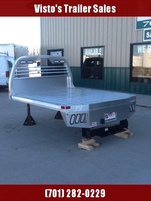 """PJ ALGB 9'4""""x97 CTA 60/34"""" Aluminum Truck Bed"""