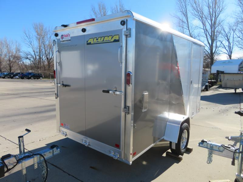 2019 Aluma 6'X12' Enclosed Trailer AE612