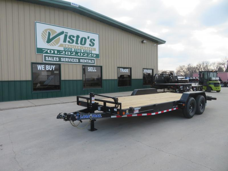 2021 Load Trail 83''X20' Equipment Trailer CH832014K