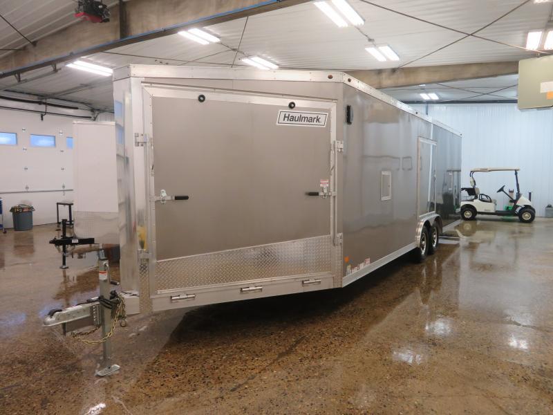 2019 Haulmark 8.5'X30' Enclosed Snowmobile Trailer HASA852410K