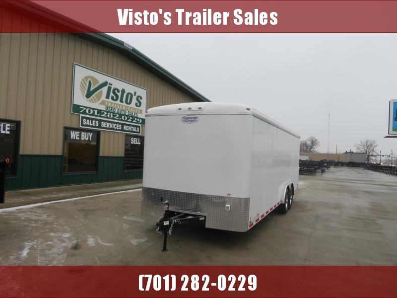 2020 Continental Cargo 8'X24' Enclosed Trailer AP824TA5