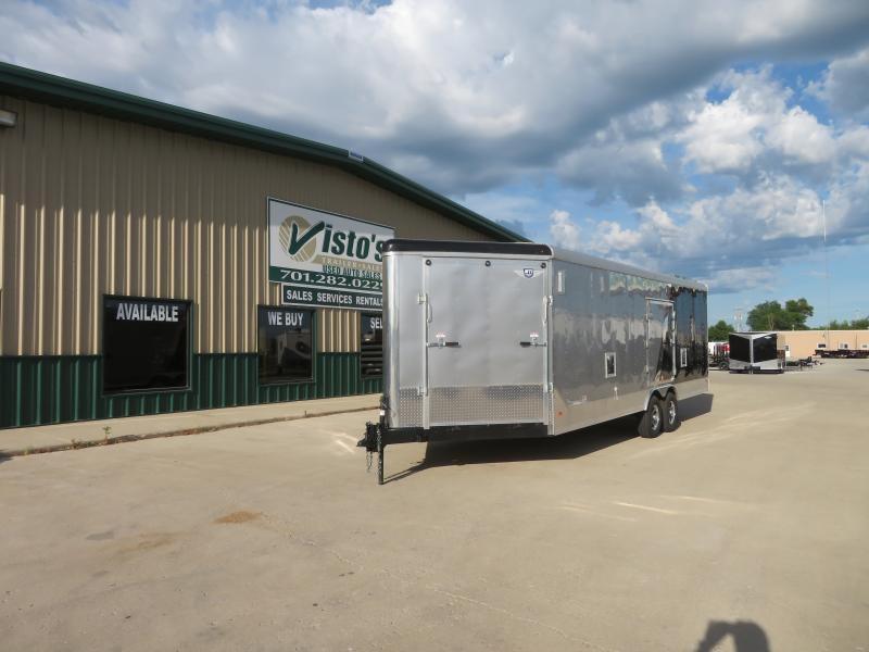 2020 MTI 8.5'X29' Enclosed Snowmobile Trailer MSCT852910K