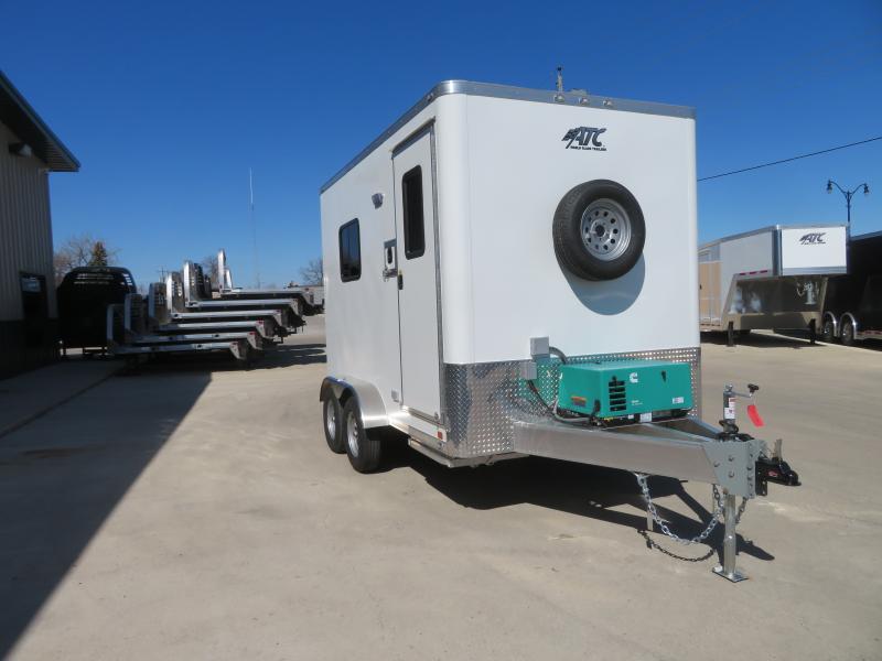 2020 ATC 7'X12' Fiber Trailer QSTAB7127K