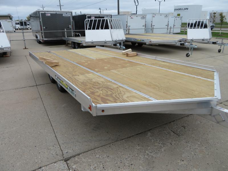 "2020 Aluma 8'6""X16' Snowmobile Trailer 8616D"