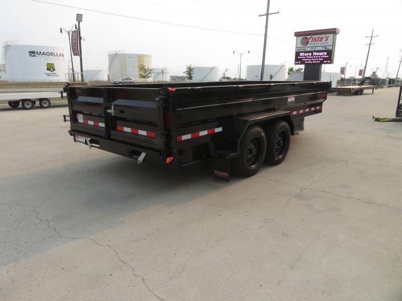 2021 Midsota 82''X16' Dump Trailer HVHD821616K