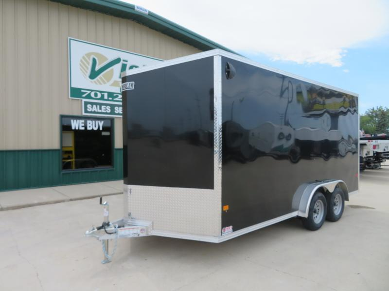 2021 EZ Hauler 7.5'X16' Enclosed Trailer EZEC75167K