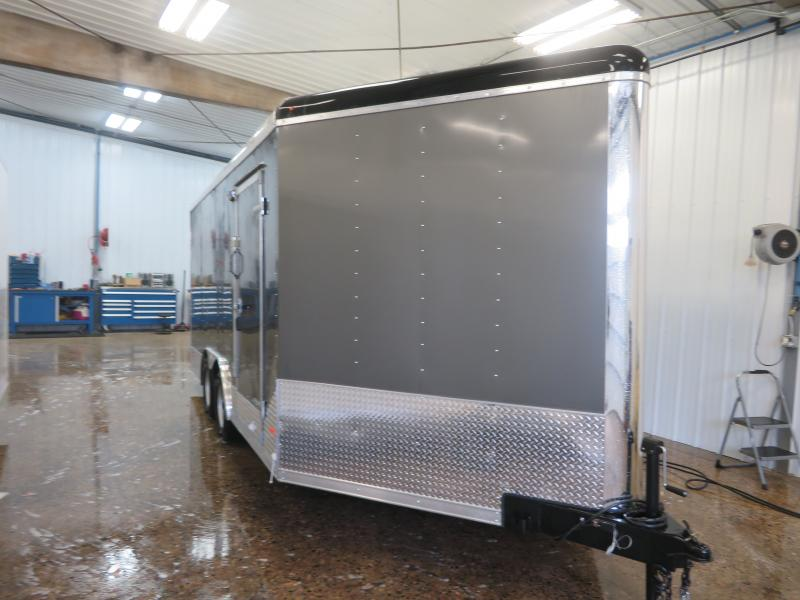 2020 MTI 8.5'X21' Enclosed Snowmobile Trailer MSCT85217K