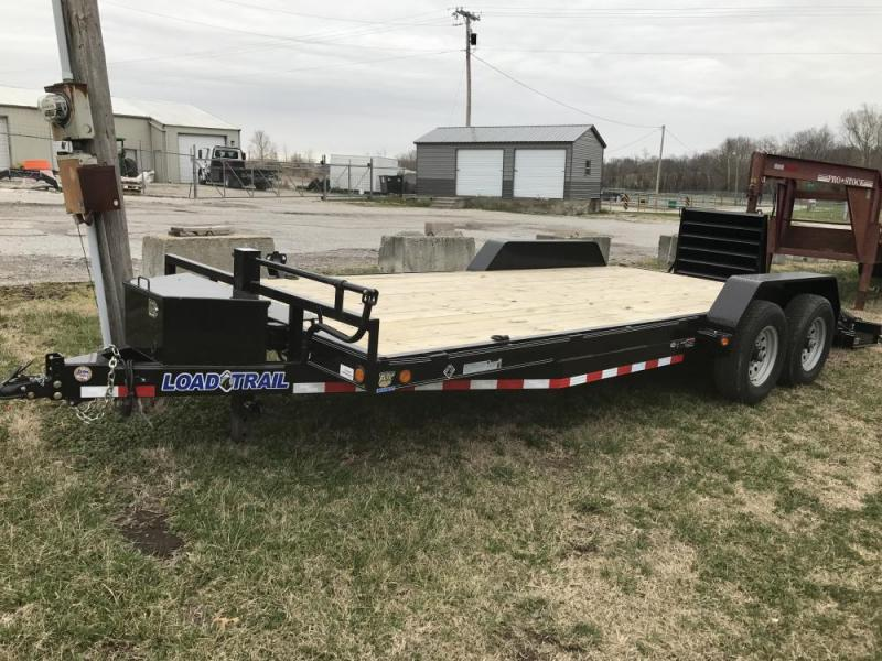 "2020 Load Trail 83"" x 20' 14K Carhauler w/ Equipment Dove"