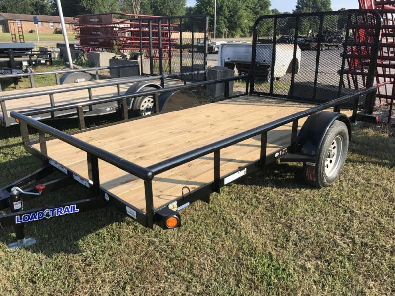 "2020 Load Trail 83"" x 12' Single Axle Utility Trailer"
