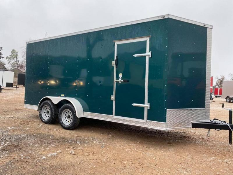2021 Deep South 7x16 Tandem Axle Enclosed Trailer - NEW-