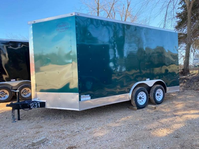 2020 Deep South 8.5x14 Tandem Axle Enclosed Cargo Trailer - NEW BUT DISCOUNTED -