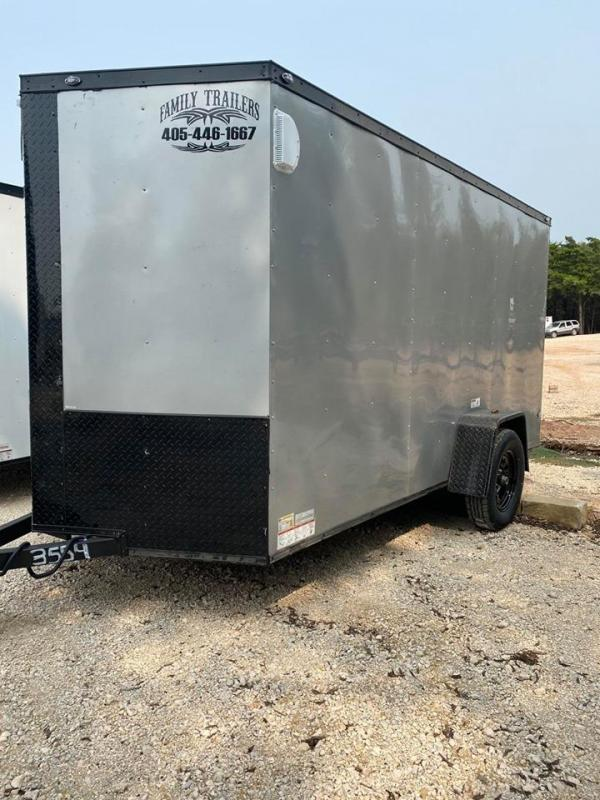 2020 Deep South 6x12 Single Axle Enclosed Cargo Trailer -  NEW