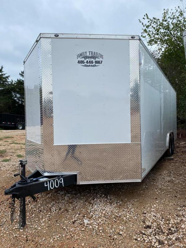 2020 Deep South DS8524TA5 Enclosed Cargo Trailer