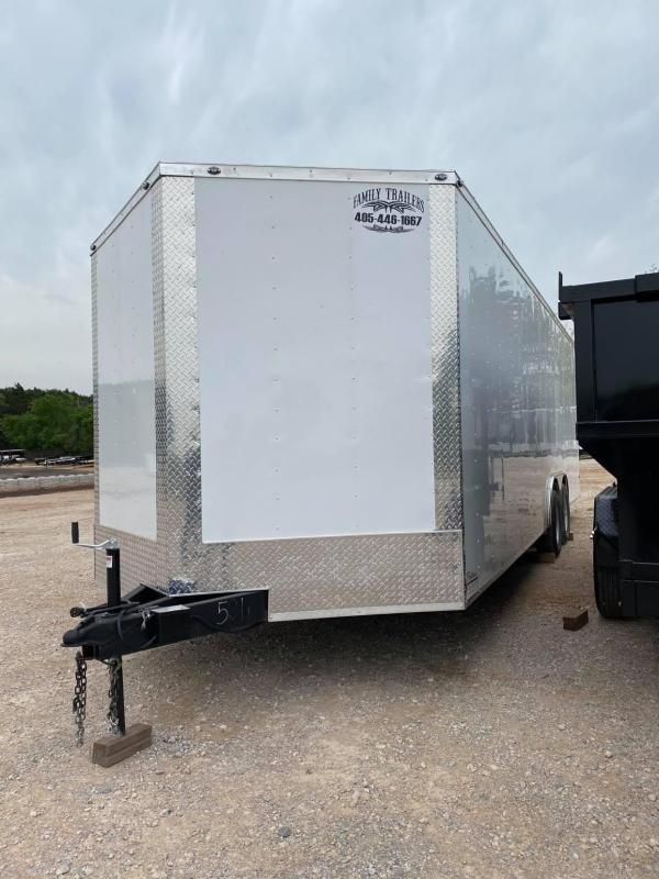 2021 Deep South 8.5x24 Tandem Axle Enclosed Cargo Enclosed Cargo Trailer - 5200lb Axles