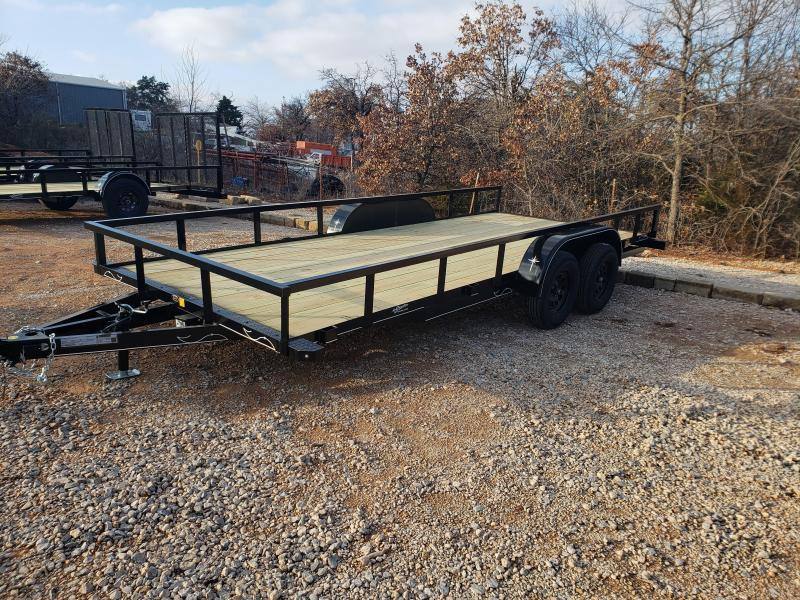 2021 Starlite Trailers 82-18 Tandem Axles Utility Trailer